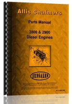Parts Manual for Allis Chalmers 2900 Engine