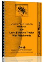 Parts Manual for Allis Chalmers 620 Lawn & Garden Tractor
