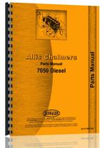 Parts Manual for Allis Chalmers 7050 Tractor