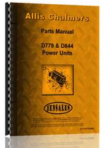 Parts Manual for Allis Chalmers D844 Engine