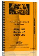 Service Manual for Allis Chalmers 180 Engine