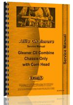 Service Manual for Allis Chalmers C2 Combine