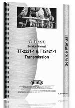 Service Manual for Ford A62 Allison Transmission