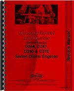 Service Manual for Adams 312 Grader Engine