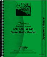Operators Manual for Adams 330 Grader