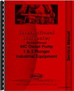 Service Manual for Adams 412H Injection Pump