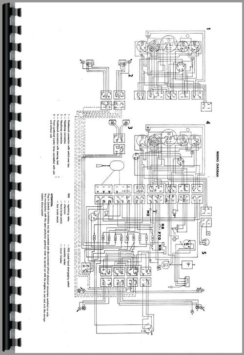 Operators Manual for Agri 5000 Tractor Sample Page From Manual