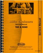Service Manual for Allis Chalmers 160 Tractor