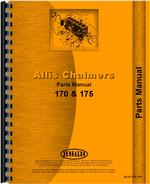 Parts Manual for Allis Chalmers 175 Tractor