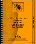 Parts Manual for Allis Chalmers 180 Tractor