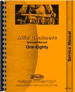 Service Manual for Allis Chalmers 180 Tractor