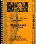 Service Manual for Allis Chalmers 185 Tractor