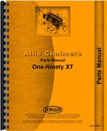 Parts Manual for Allis Chalmers 190 Tractor