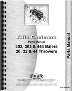 Parts Manual for Allis Chalmers 303 Baler