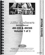 Service Manual for Allis Chalmers 4W-305 Tractor