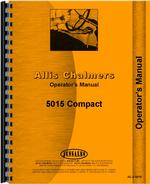 Operators Manual for Allis Chalmers 5015 Tractor