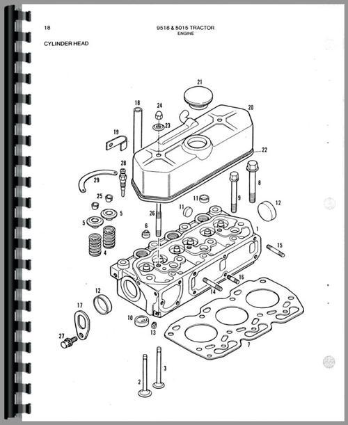 Allis Chalmers 5015 Diesel Tractor Wiring Diagram
