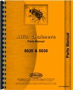Parts Manual for Allis Chalmers 5020 Tractor