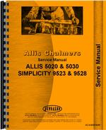 Service Manual for Allis Chalmers 5030 Tractor
