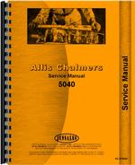 Service Manual for Allis Chalmers 5040 Tractor