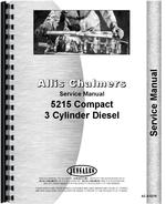 Service Manual for Allis Chalmers 5215 Tractor