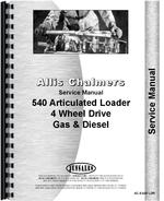 Service Manual for Allis Chalmers 540 Articulated Loader