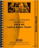 Service Manual for Allis Chalmers 620 Lawn & Garden Tractor
