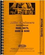 Service Manual for Allis Chalmers 6670 Tractor