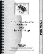 Parts Manual for Allis Chalmers 7000 Tractor