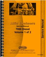Service Manual for Allis Chalmers 7000 Tractor