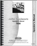Operators Manual for Allis Chalmers 7030 Tractor