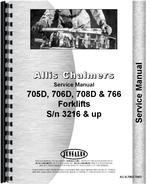 Service Manual for Allis Chalmers 705D Forklift