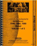 Service Manual for Allis Chalmers 7060 Tractor