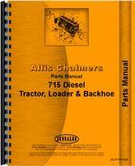 Parts Manual for Allis Chalmers 715 Tractor Loader Backhoe