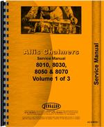 Service Manual for Allis Chalmers 8030 Tractor