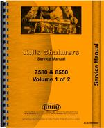 Service Manual for Allis Chalmers 8550 Tractor