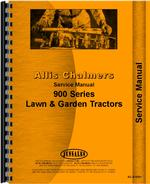 Service Manual for Allis Chalmers 912 Lawn & Garden Tractor