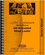 Service Manual for Allis Chalmers 940 Wheel Loader