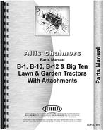 Parts Manual for Allis Chalmers B-12 Lawn & Garden Tractor