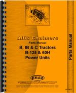 Parts Manual for Allis Chalmers B Tractor