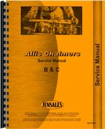 Service Manual for Allis Chalmers B Tractor