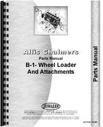 Parts Manual for Allis Chalmers B-1 Lawn & Garden Tractor