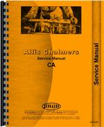 Service Manual for Allis Chalmers CA Tractor
