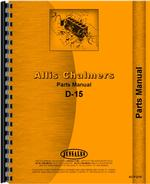 Parts Manual for Allis Chalmers D15 Tractor