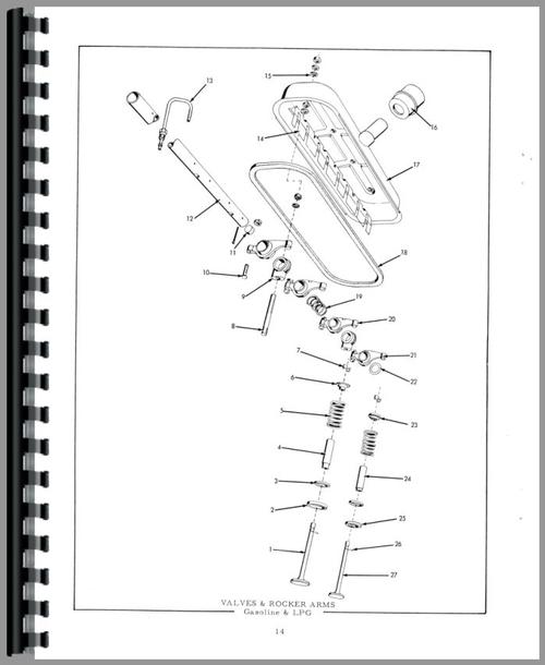 allis chalmers d17 tractor  diagrams  wiring diagram images