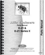 Parts Manual for Allis Chalmers D21 Tractor