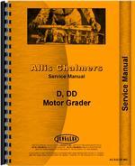 Service Manual for Allis Chalmers DD Motor Grader