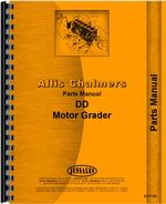 Parts Manual for Allis Chalmers DD Motor Grader