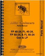 Parts Manual for Allis Chalmers FP40-24 Forklift