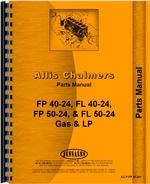 Parts Manual for Allis Chalmers FP50-24 Forklift